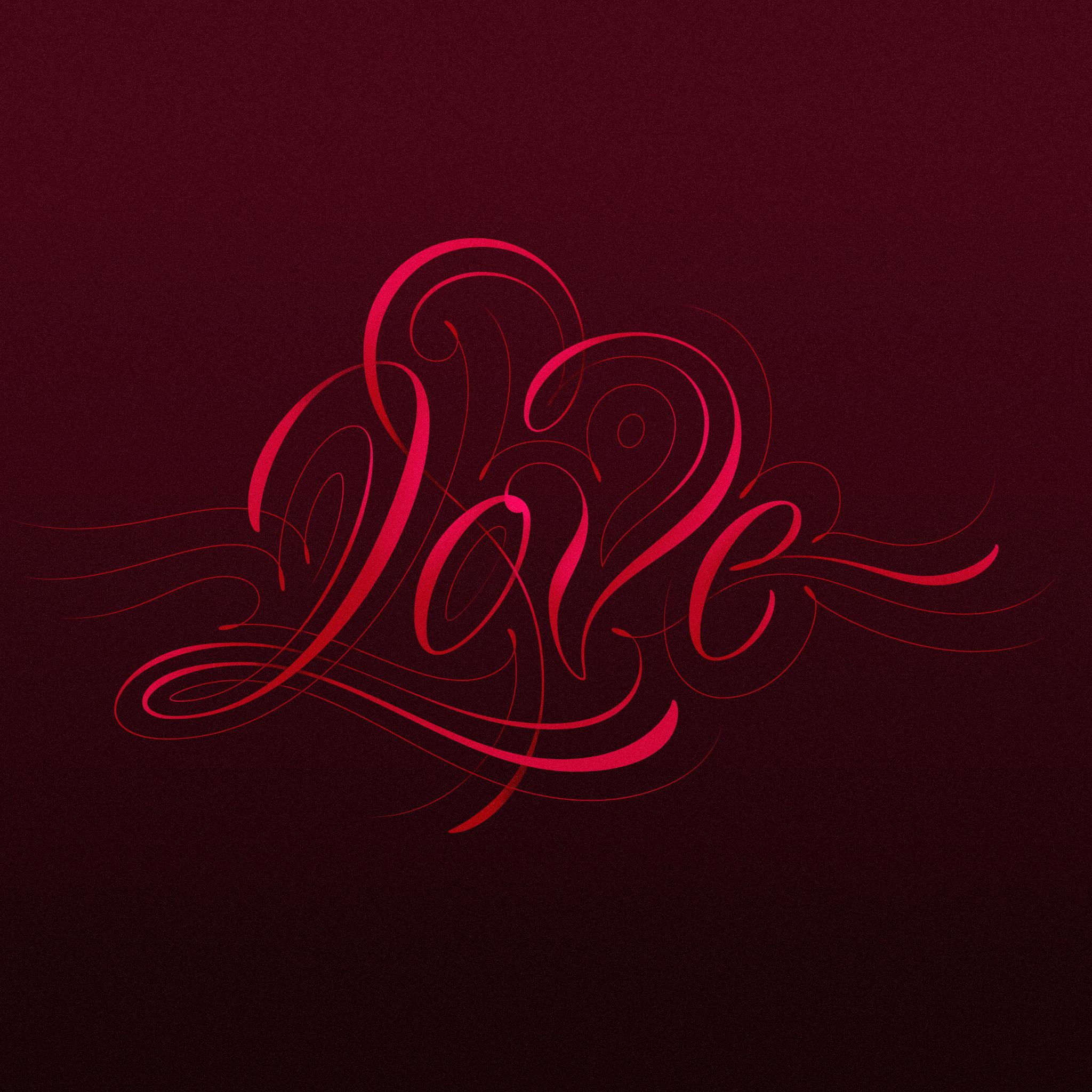 Love Lettering by Dan Forster