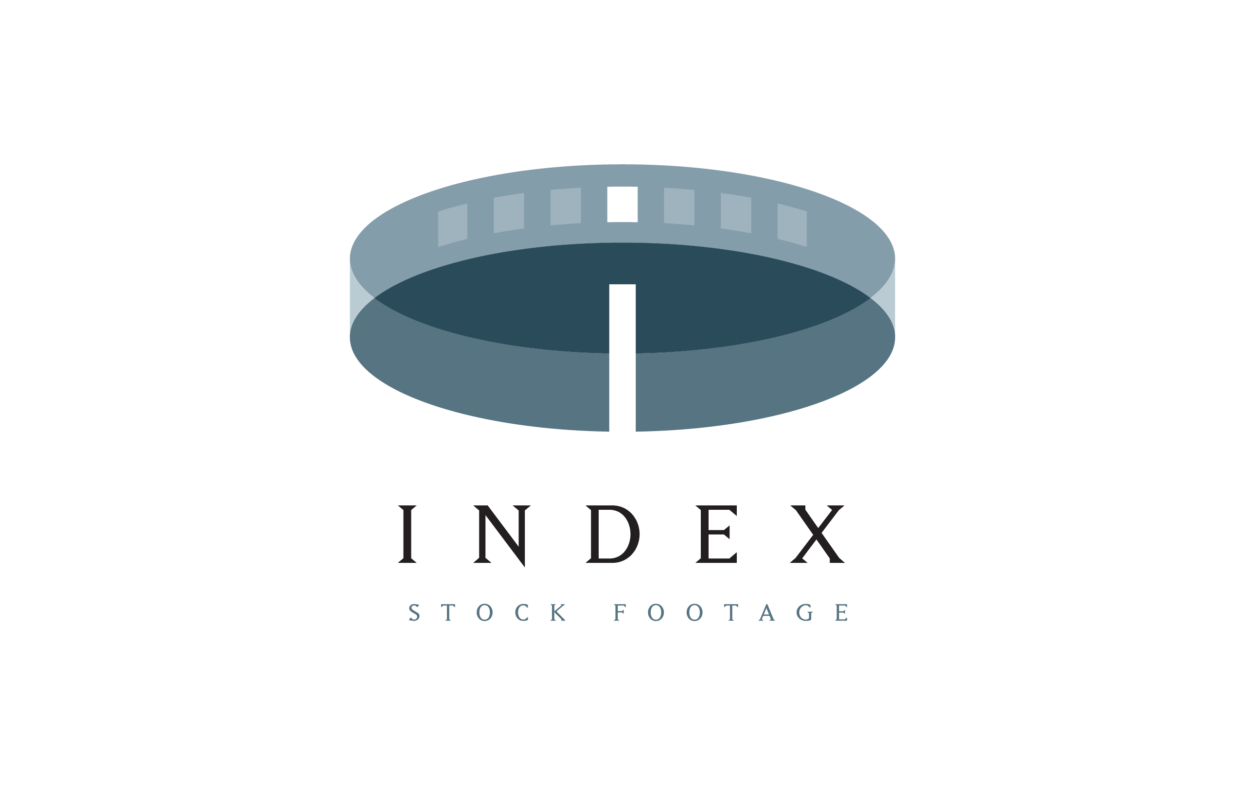 Logo for Index Stock Footage designed by Dan Forster