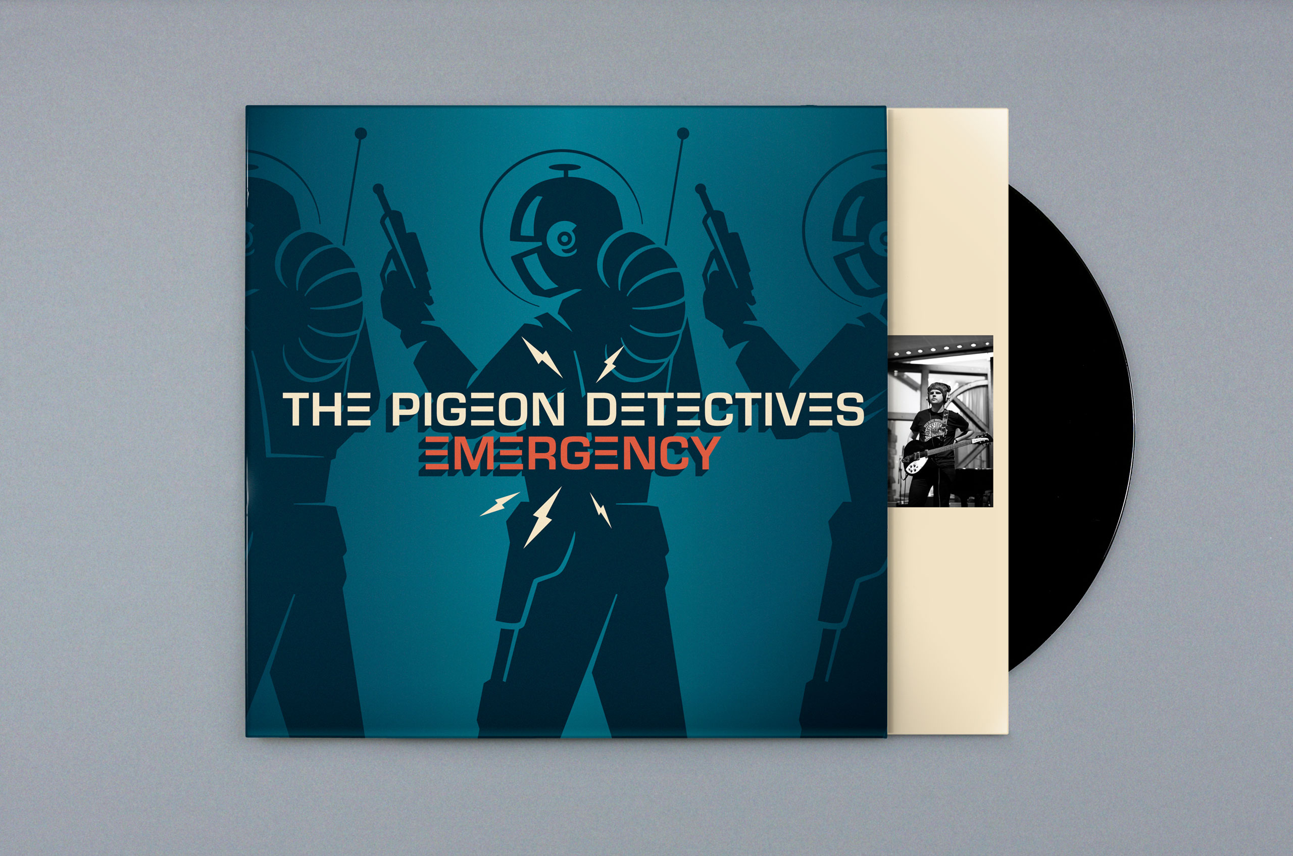 Emergency - The Pigeon Detectives Album Cover by Dan Forster