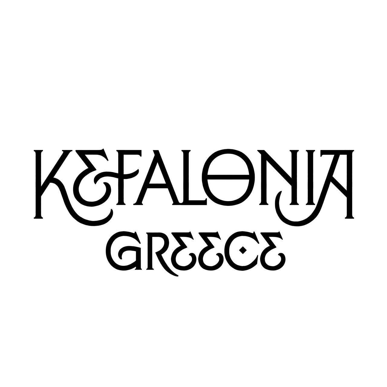 Kefalonia Lettering, designed by Dan Forster