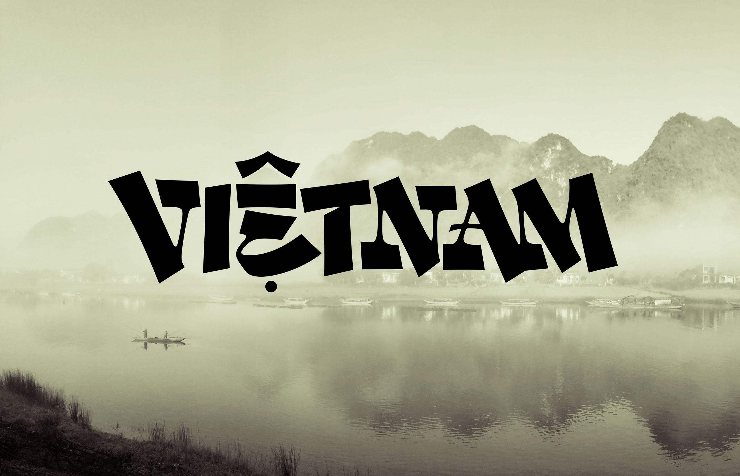 Dan Forster Vietnam Custom Lettering