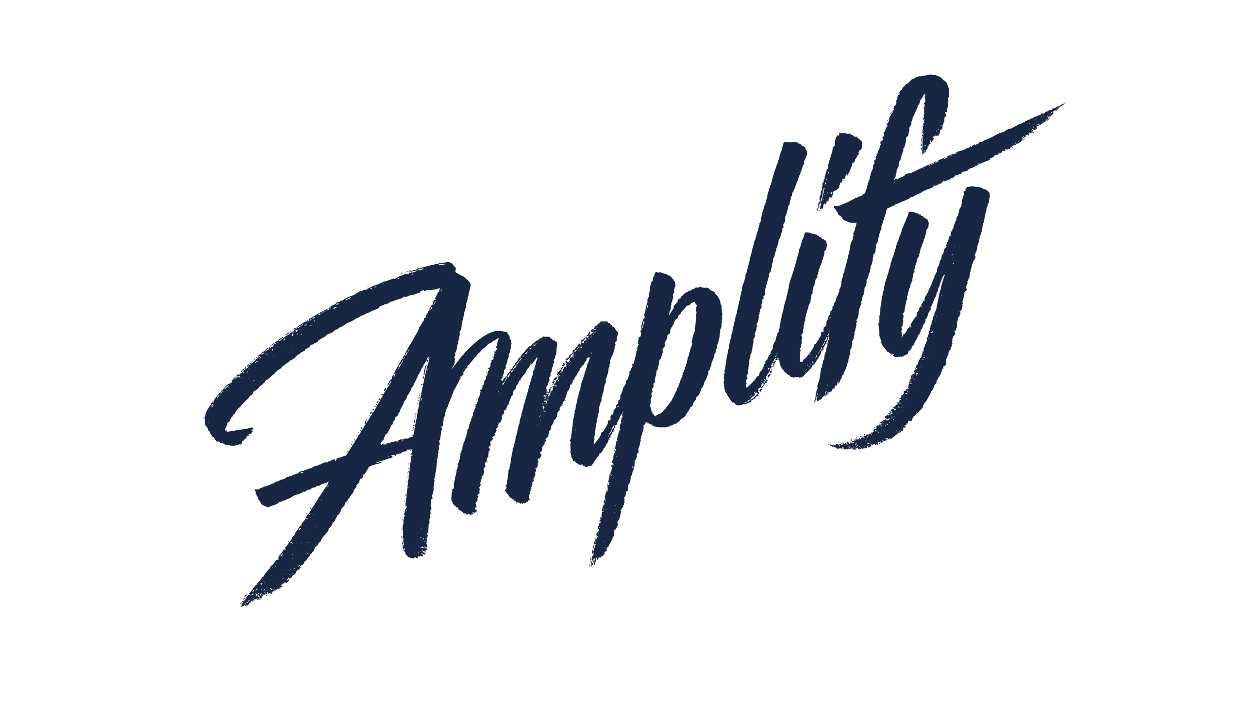Amplify logotype, for Elmwood, Designed by Dan Forster