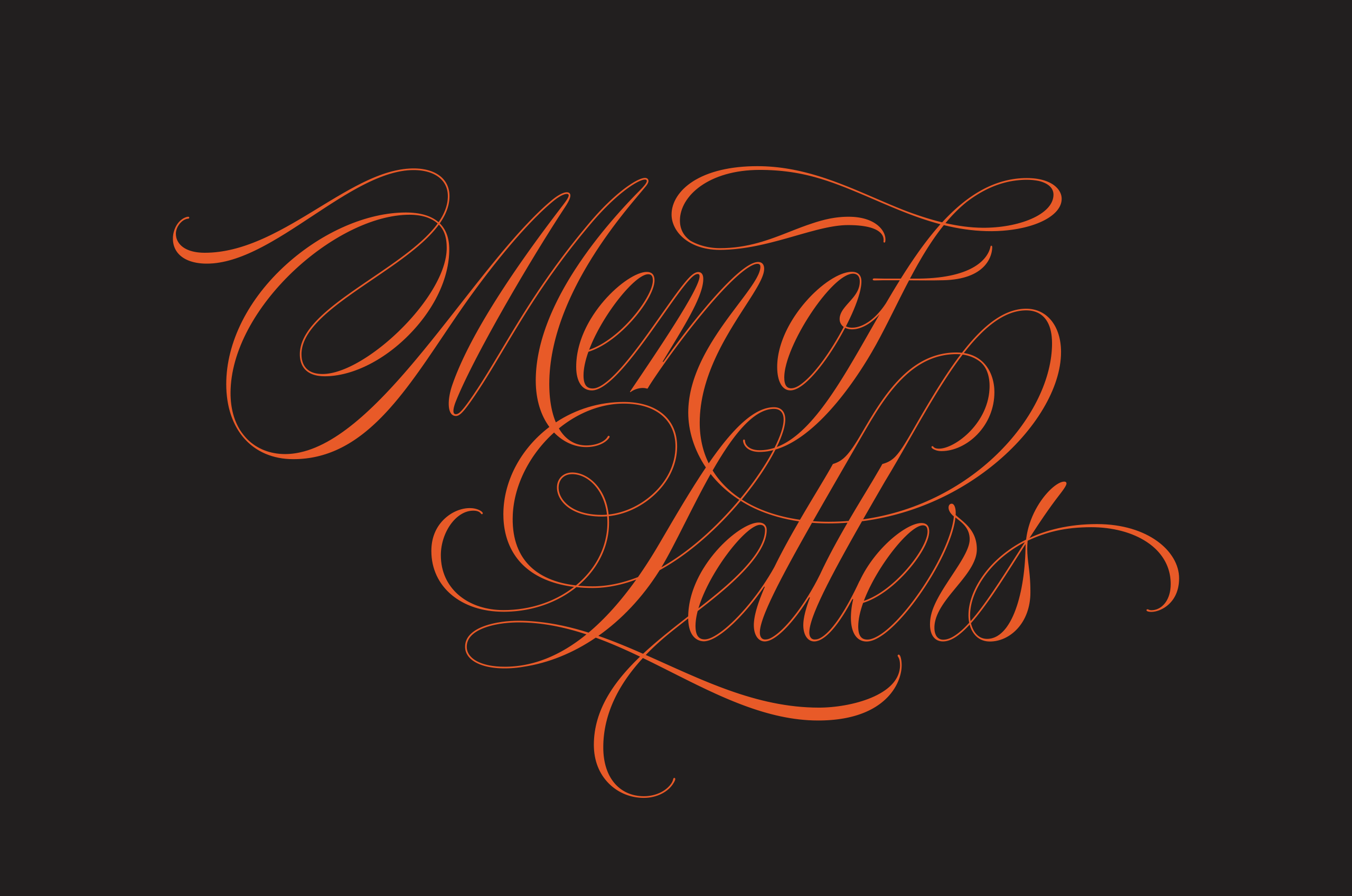 Men of Letters Logotype by Dan Forster