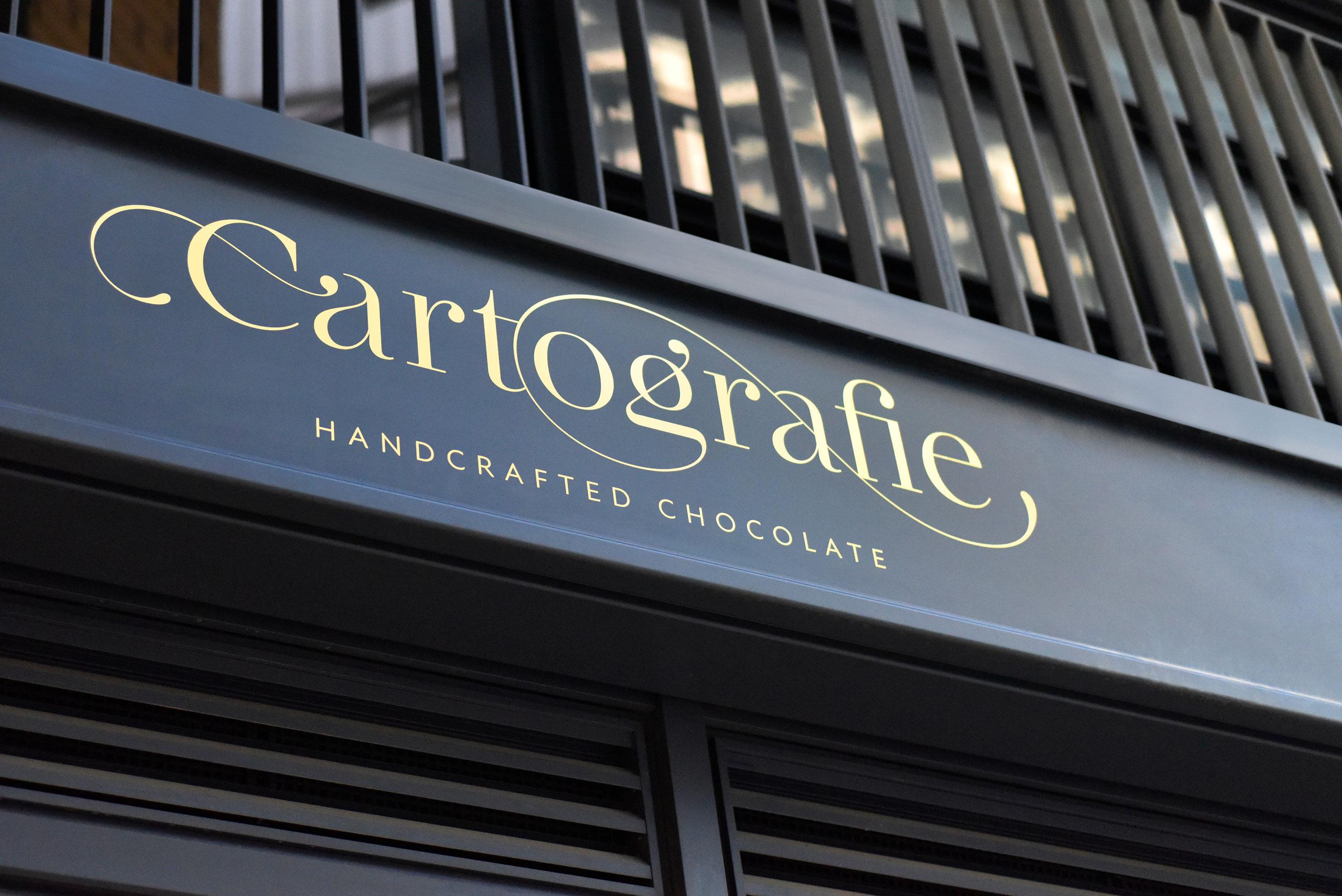 Cartografie Chocolates Shop Facade 2